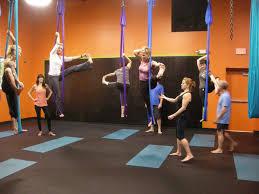 aerial yoga depression of the