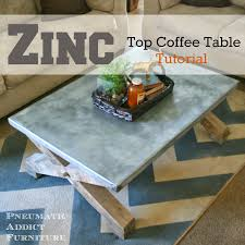 Zinc Dining Table French Collection Zinc Coffee Table Pictures Elegy