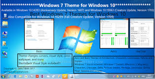 Windows Fall Theme Windows 7 Theme For Windows 10 By Win7tbar On Deviantart