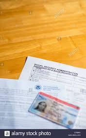 Us Employment Authorization Document Ead Stock Photos & Us ...