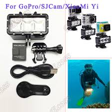 Underwater Camera Light Mount Accessories Gopro Underwater Light Diving Waterproof Led