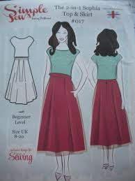 Simple Skirt Pattern Delectable Simple Sew Sophie Skirts All My Own Work By Ann