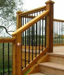 metal handrails for deck stairs. deck stair railing home depot see 100s of ideas http://awoodrailing metal handrails for stairs d