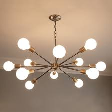 living fabulous mid century chandeliers