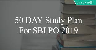 50 day study plan for sbi po 2019