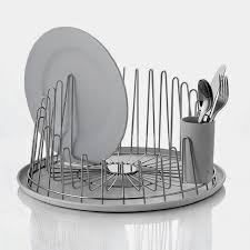... Kitchen dish rack, Dazzling Dish Rack Technique Simple Metal Modern  Made Of Stainless Steel Rack ...
