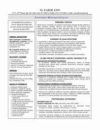 Data Analyst Resume Sample Elegant Data Analyst Resume Objective