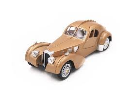 What will be your next ride? Buy Free Shipping 1 28 The Bugatti Type 57sc Atlantic Coupe Sound Light Pull Back Diecast Model Vehicle Gold New Online At Low Prices In India Amazon In