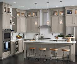 Gray kitchen with Lillian laminate cabinets ...