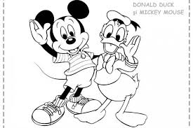 Small Picture Mickey Mouse Donald Duck Coloring Pages Coloring Pages