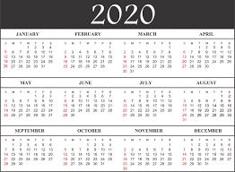 2020 Calendar Editable Free Printable Calendar 2020 Template In Pdf Excel Word