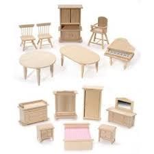 unfinished dollhouse furniture. Unfinished Dollhouse Furniture. Diy The Orchid With Set Of Furniture (12pcs) N