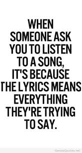 Cute Song Quotes Extraordinary Cute Song Quote