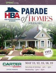 Carter Lumber Home Designs 2019 Hba Saginaw Spring Parade Of Homes By Hbasaginaw Issuu