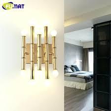lighting sconces for living room. Bar Wall Sconces Living Room Bamboo Shape Pipe Lamps Modern Hotel Decor Lighting For E