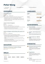 Entry Level Interior Design Salary In California 12 Interior Designer Resume Examples Samples For 2020