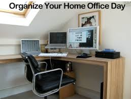 how to organize home office. Tuesday, March 10: The Day To Get Your Home Office Organized How Organize