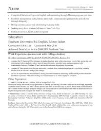 Resume Entry Level Resume Templates News To Go 2 Pinterest