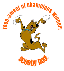 scooby doo winner of the toon ament of champions