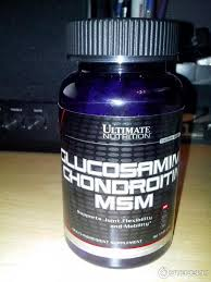 Препарат для связок и суставов ultimate nutrition glucosamine chondroitin msm 90 tablet фото