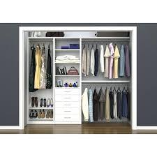 closetmaid closet organizer kit white 5 to 8 free