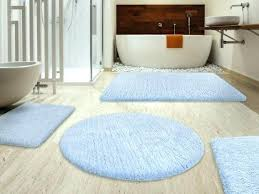 blue bath rug navy and white rugs set mat with black border