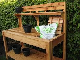 Potting Bench Ideas   Custom Raised Gardens:  Pinterest