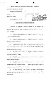 Sample Civil Complaint Form Best Photos Of Sample Answer Complaint Form Sample Civil Complaint 9