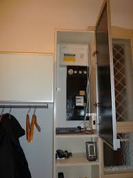 wardrobe hiding wires and fuse ikea hackers ikea hackers to complete the wardrobe and get space for all our winter gear and helmets we hung a besta shelf unit height extension 47 1 4prime 120 cm wide next the billy