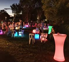 Glow Furniture School Disco Glow Furniture Perrys Sunshine Coast Event Hire