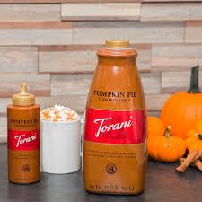 Torani 64 oz. Pumpkin Pie Flavoring Sauce