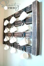 wall mounted mug rack disposable coffee cup holder by coffee mug with mug wall rack decorations mug rack wall magnolia market