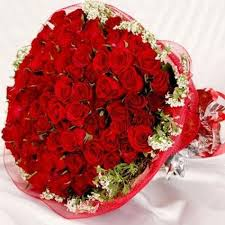 happy anniversary red love flowers