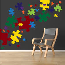 puzzle pieces decal game wall decal murals primedecals