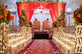 indian wedding ceremony decor venue