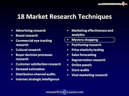 market research techniques and tools market research techniques and tools