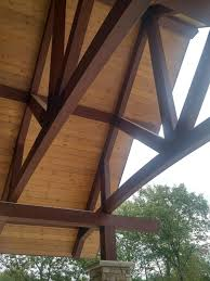 Designs For Glued Trusses Glued Laminated Wood Goodfellow Inc