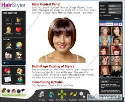Hairstyle Simulator App virtual hairstyle selector online beglamorous 6581 by stevesalt.us