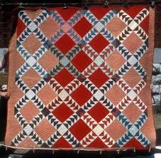 Addie Sims Hardiman made this Wild Goose Chase quilt around 1905. The quilt  was hand and machine pieced and hand quilt… | Quilts, Vintage quilts,  Flying geese quilt