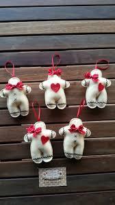 Decorazioni natalizie feltro la piccola bottega creativa