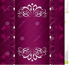 Calligraphy Backgrounds Vintage Wedding Invitation Frames Vector Design Stock Vector