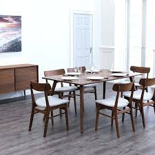 cucina walnut extendable dining table tables