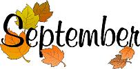Image result for free september clip art