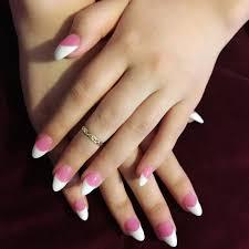 Nail Designs : Pink White And Gold Nail Designs Beautiful Pink and ...