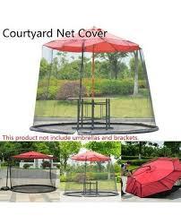 patio umbrella nets cover mosquito