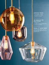 west elm july 2017 sculptural glass globe pendant large globe gold ombre shade brass c
