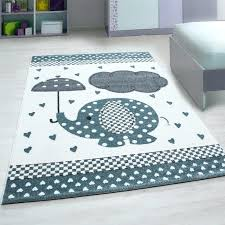 baby animal rugs details about elephant nursery rug white grey blue carpets kids room mat