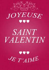 Carte De St Valentin Carte Joyeuse St Valentin Je Taime