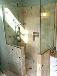 open shower stalls. Doorless Shower Dimensions Walk In Designs Medium  Size Of Kitchen Delightful Bathroom . Open Stalls H