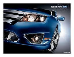 2010 Ford Fusion Fog Light Trim 2010 Ford Fusion Brochure Manualzz Com
